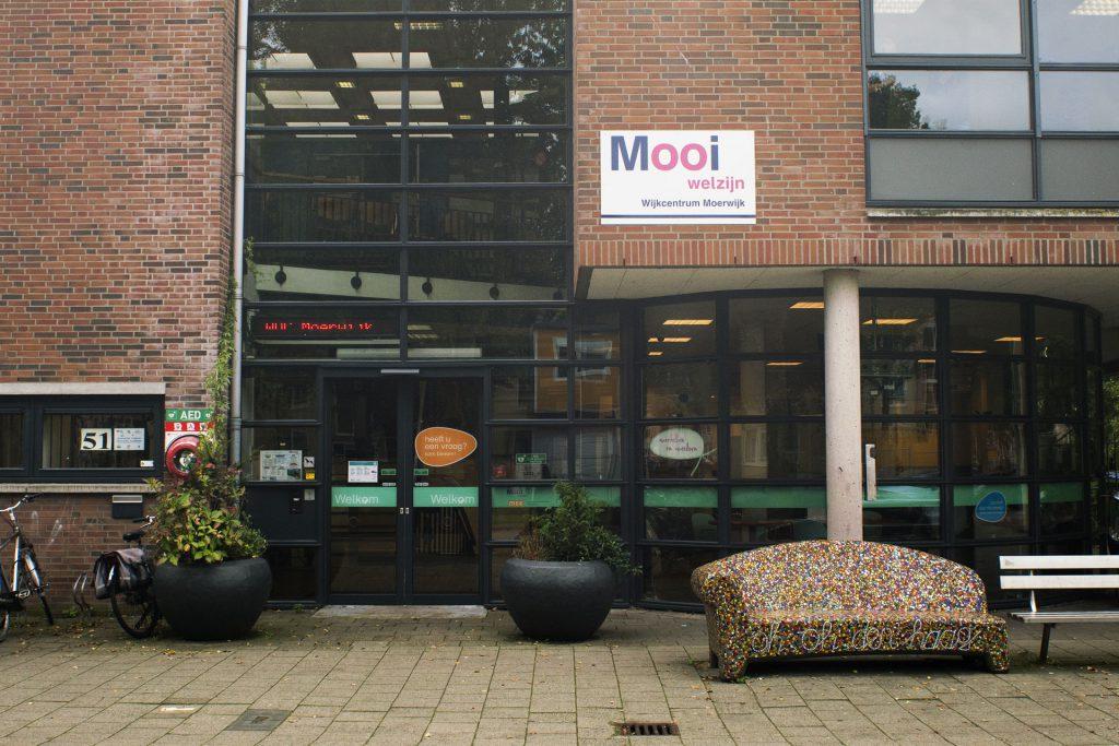 Voorkant gebouw Moerwijk